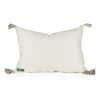 Luca Applique Haxagon Pillow Back