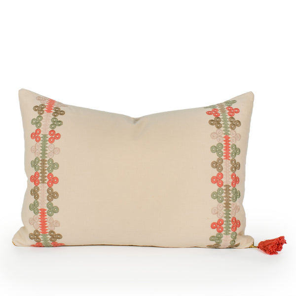 Lucille Dot Pillow Front
