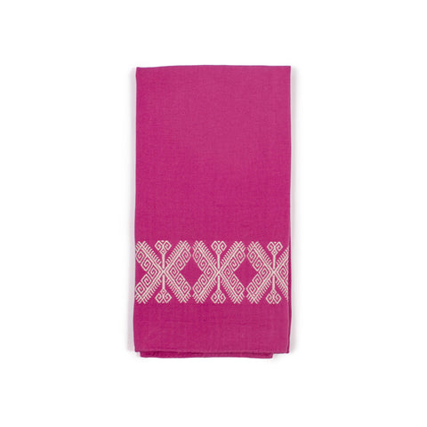 Nailah Pink Tea Towel