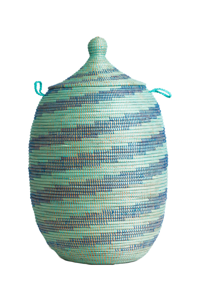 Naira Blue & Aqua Basket