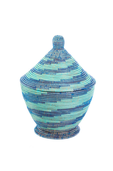 Oba Blue & Aqua Basket