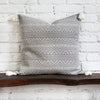 Harper Gray Woven Tasseled Pillow Design