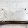 Tallulah Woven Tasseled Pillow Design