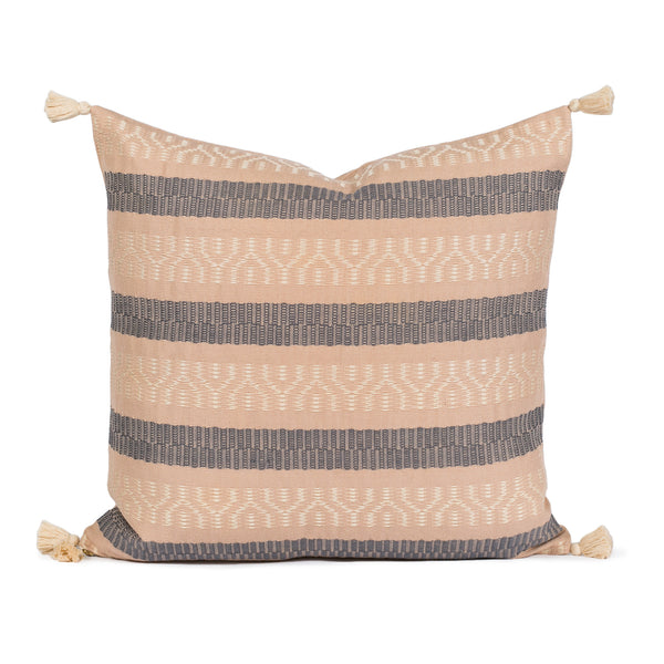 Sabella Blush Woven Pillow