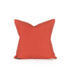 Back of Bailee Coral Woven Pillow