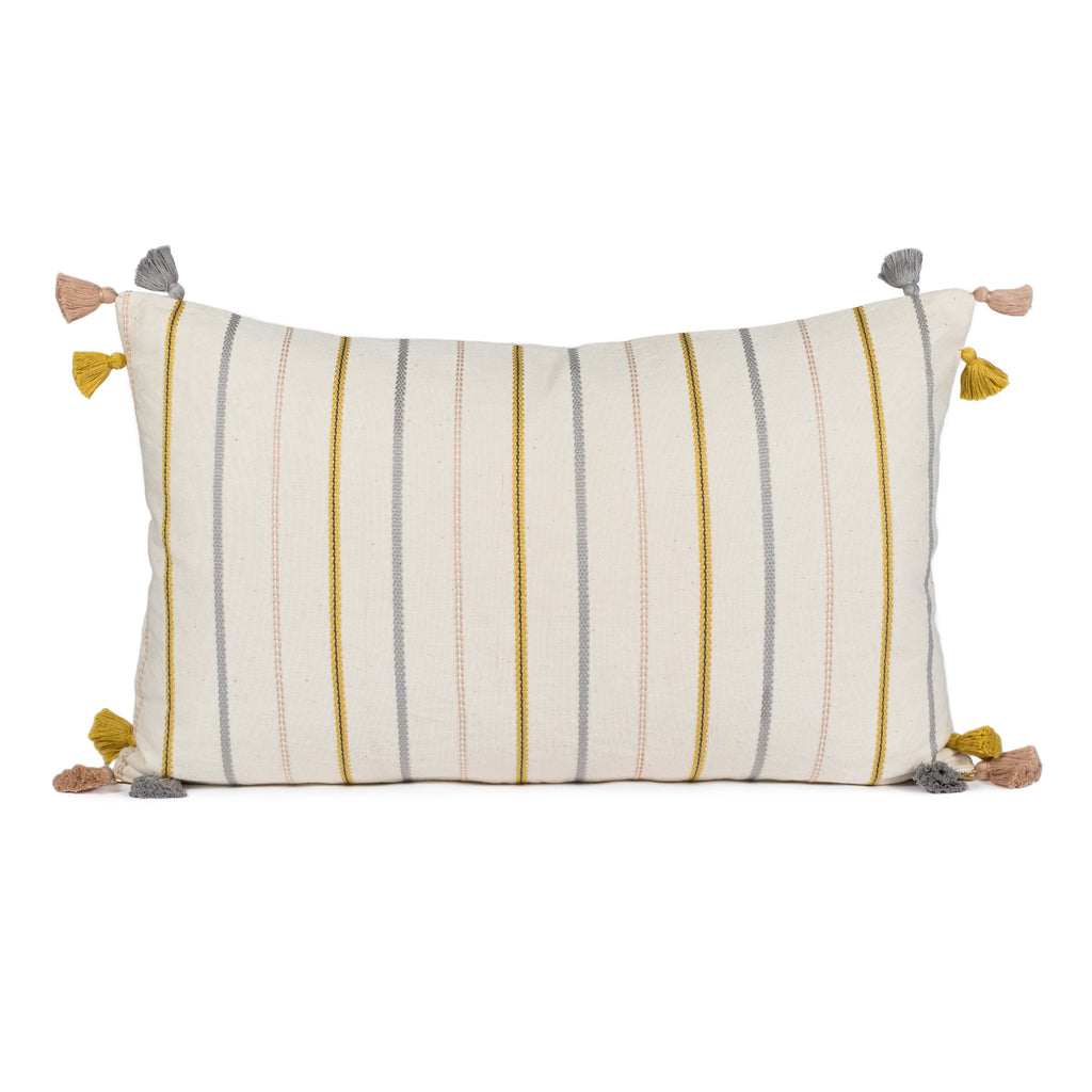 Aisley Warm Stripe Pillow