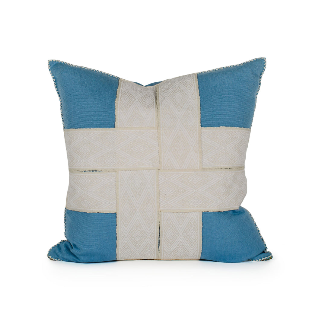 Bailee Woven Strap Pillow Front