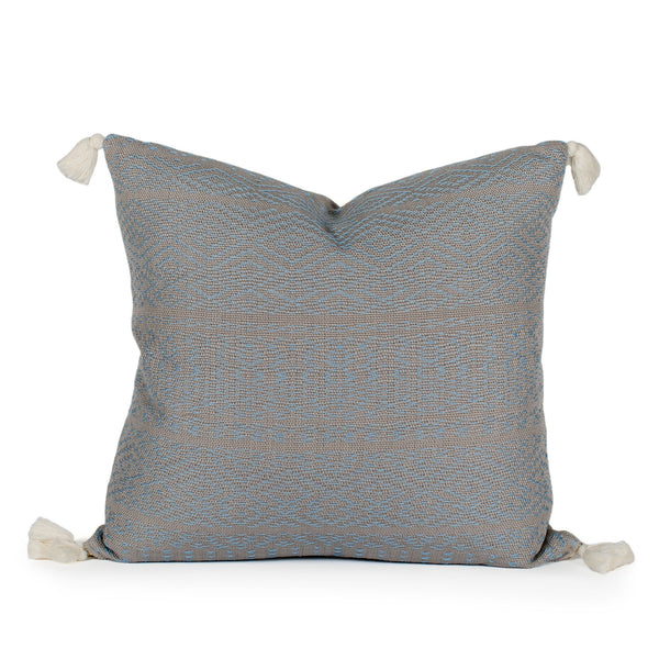 Skylar Woven Tasseled Pillow