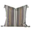 Loren Woven Stripe Pillow Back