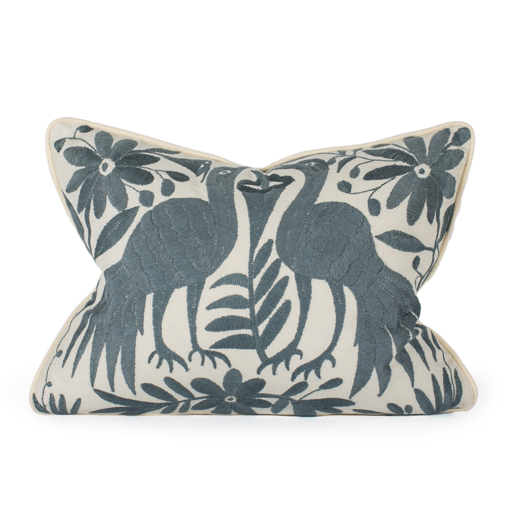 Charcoal Otomi Pillow
