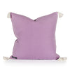 Phoebe Lavender Raised Dot Pillow Back