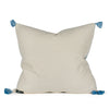 Sloan Woven Tasseled Pillow Back