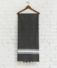 Tunisian Charcoal Fouta Hung