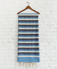Tunisian Blue Stripe Fouta Hung