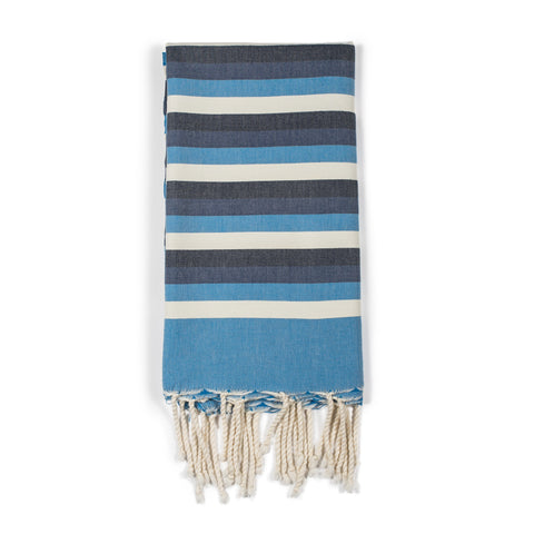 Tunisian Blue Stripe Fouta