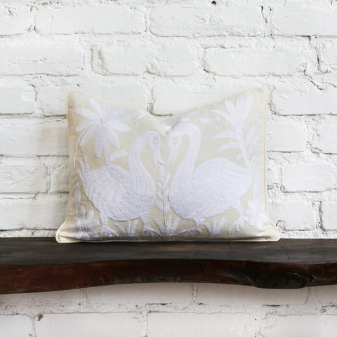 White Otomi Pillow