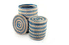 Ada Blue Striped Basket Set