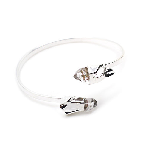 Eden by Sight Double Crystal Bangle