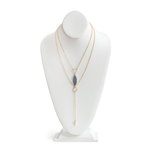 Eden by Sight Kyanite Lariat Necklace