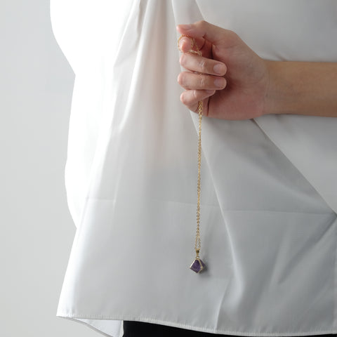 Aion Purple Amethyst Necklace
