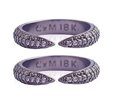 Mays Ring Set - Chrome