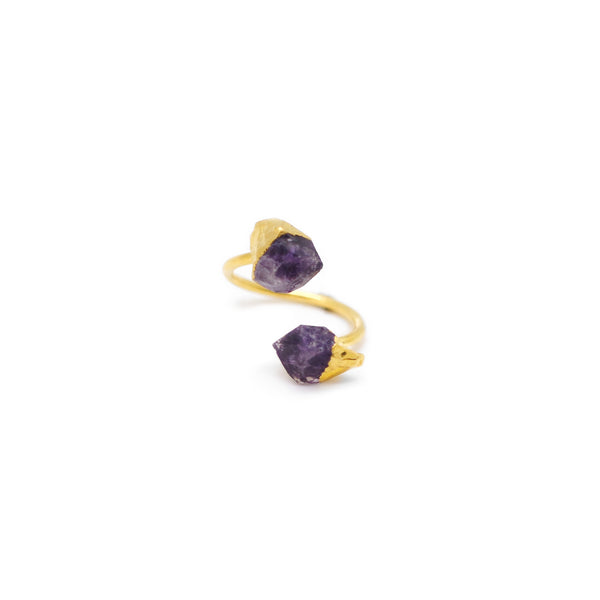 Eden by Sight Amethyst Ring