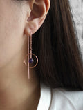 Eden by Sight Circa Earrings (Rose Gold)