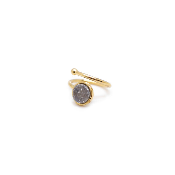 Eden by Sight Single Druzy Ring