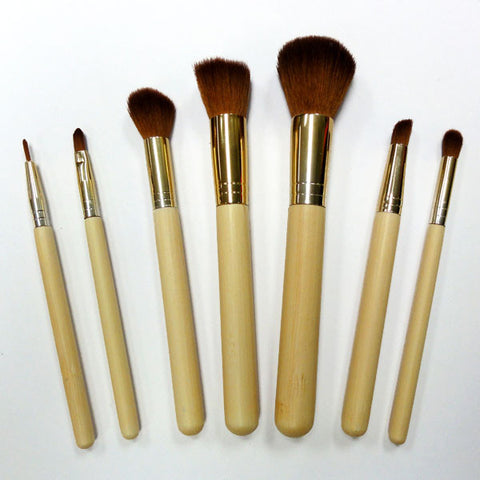 7 Piece Vegan Brush Set