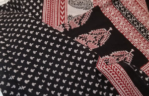 Paisely Design Hand Block Printed on cotton