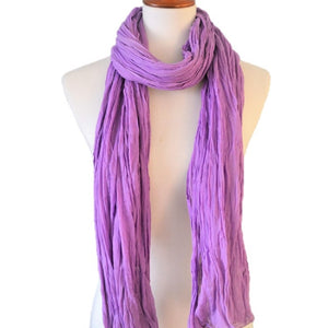 Everyday essential Natural Soft Lightweight Pure Cotton Scarf