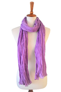 Everyday essential Natural Soft Lightweight Pure Cotton  gauge Scarf