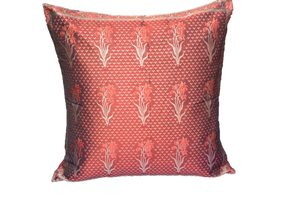 Hand woven Brocade Holiday Decorative Throw Pillow Case