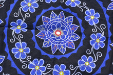 OMSutra Mandala Applique Boho Tapestry for Wall Decor