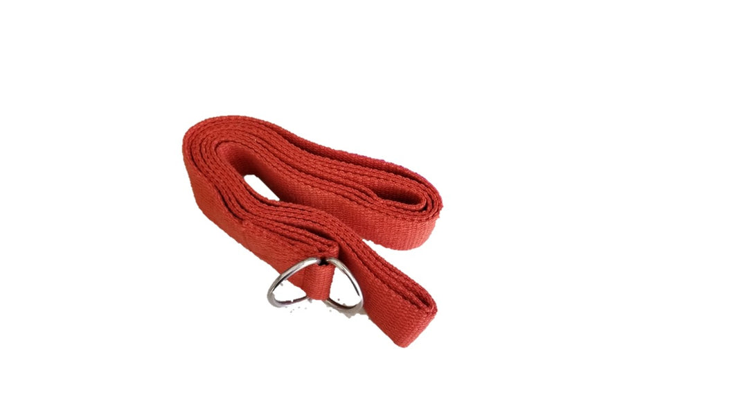OMSutra Yoga Strap D-Ring (Regular) 6' - Deluxe