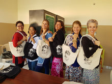 Nirvana Tote Bag - Transforming life through youth empowerment