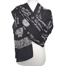 OMSutra  Karma Mantra Yoga Prayer Shawl