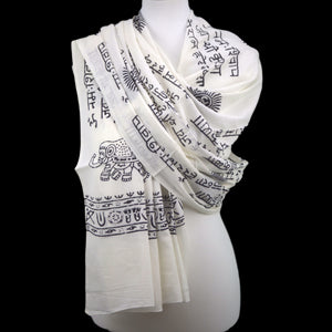 OMSutra Karma Mantra Fashion Prayer Shawl