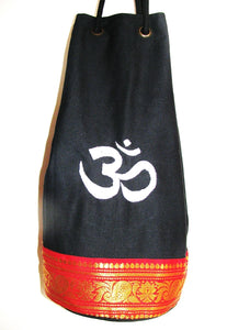 OMSutra Kids OM Yoga Mat Bag with Saree Lace