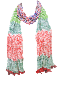 Floral fashion Chiffon Scarves