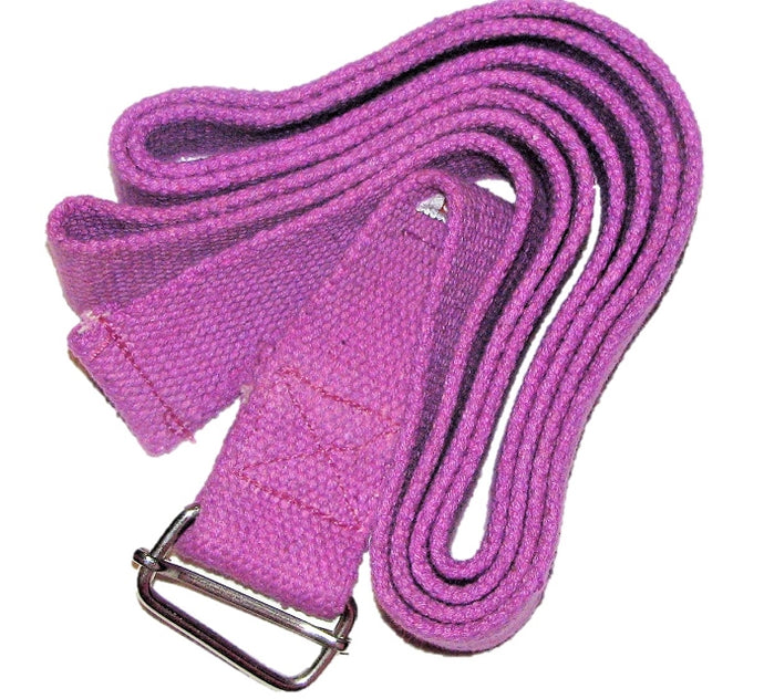OMSutra Yoga Strap - Cinch/Buckle 8'