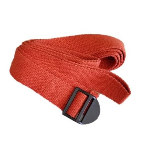 OMSutra Yoga Strap - Cinch Buckle (Regular) 8'