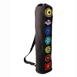 Yoga Bag - OMSutra Chakra Yoga Mat Bag  - Drawstring