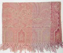 Handwoven Paisley Jamavar one of a kind limited edition designer Shawl