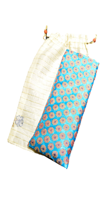 OMSutra's Stress Relief and Self-Care Silk Eye Pillow for healing Gifts