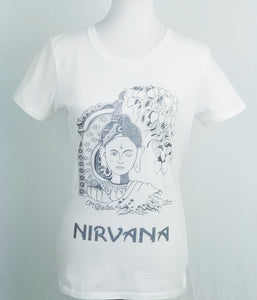 NIRVANA T-shirt - The art of practising  Mindfullness