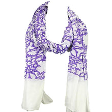 Karuna Floral Fashion Scarves  - Hand Block Printed by Survivors