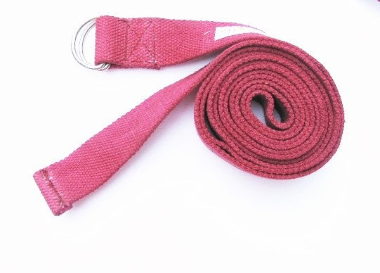 OMSutra Yoga Strap - D Ring 8'