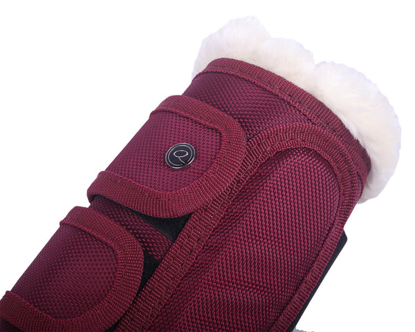 Astana burgundy boot cob and pony size