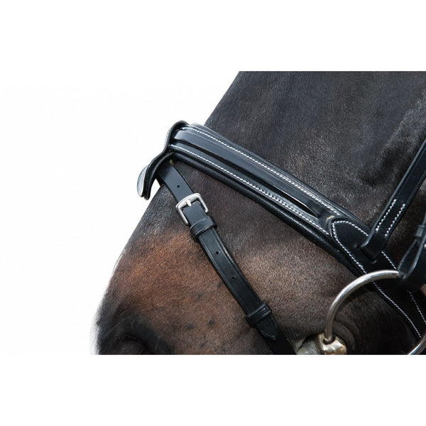 Charlotte bridle with gel-padding HKM